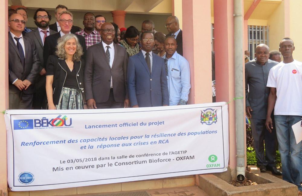 Lancement Officiel Du Fonds Bekou Mis En œuvre Par Le Consortium Bioforce Oxfam