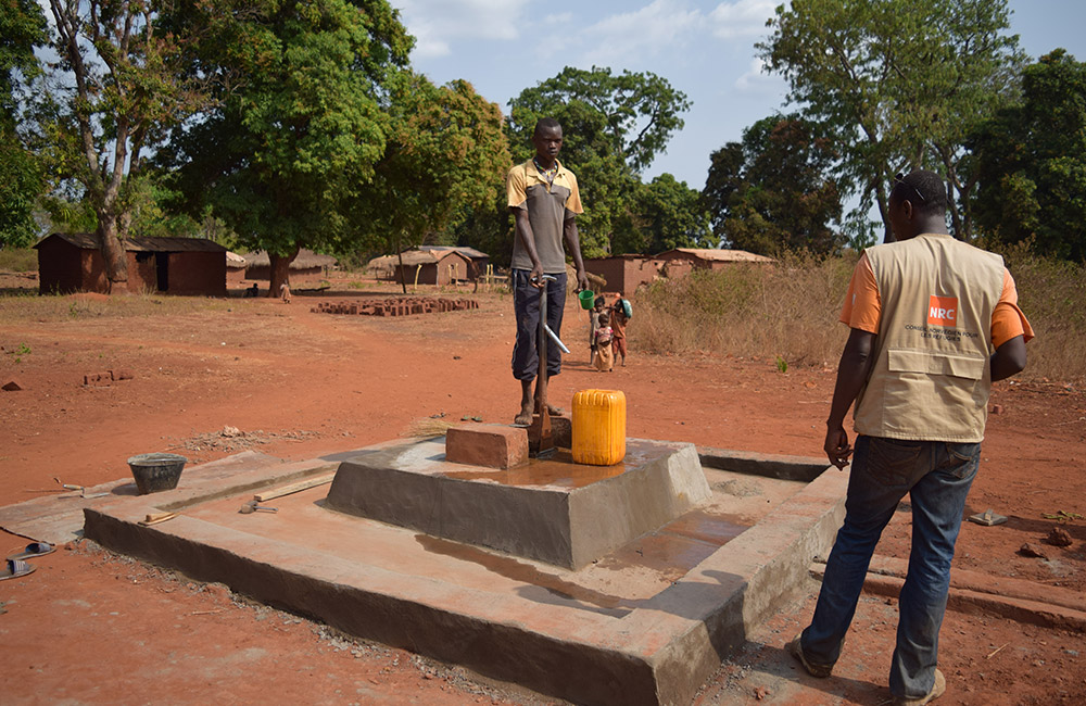 Rehabilitation Points Eau Ndjoukou Nrc
