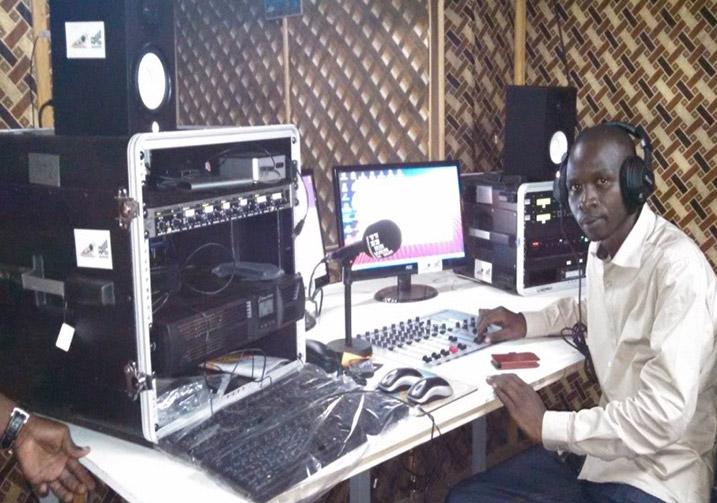 Siege Directaid Ama Radio Voix Paix