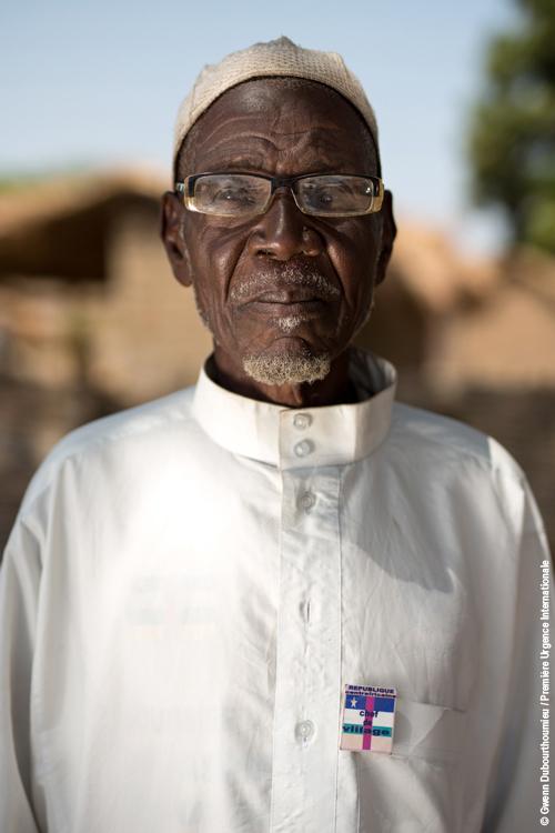 Fonds Békou_Première Urgence International_Mbollo_portrai chef du village_23.01.2018